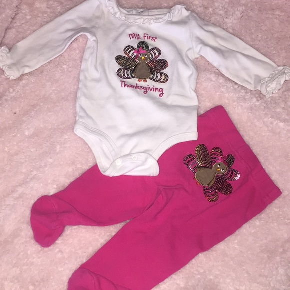 06b1be988 Koala Kids Matching Sets | Baby Girl First Thanksgiving Outfit ...